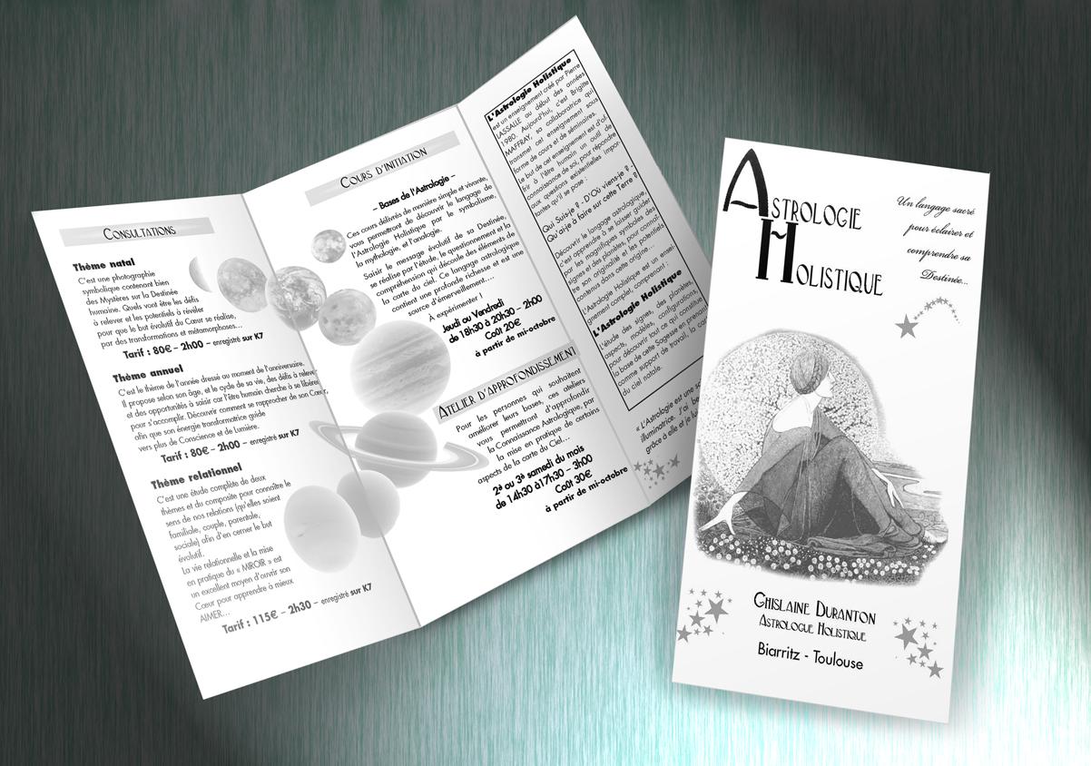 flyer-astrologie, Bayonne
